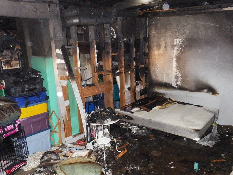 Tenants of this home involved in an electrical fire reported that the breakers had been tripping regularly for the last four and a half years. (CNW Group/Technical Safety BC)
