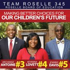 Team Roselle 345 Wins Big in the Board of Education Race in Roselle, New Jersey.