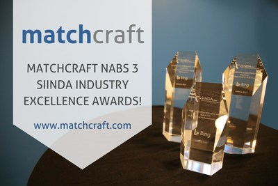 MatchCraft Nabs Three Awards at the SIINDA Media Tech Conference 2017