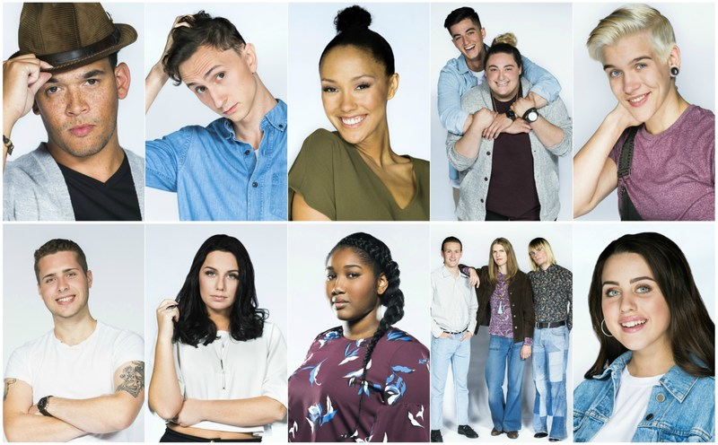 (Top Row L-R: Chad Price, Dylan Menzie, Elequen, Elijah Woods x Jamie Fine, Grace Bakker) (Second Row L-R: Havelin, Julia Tomlinson, Sariyah Hines, The Static Shift, Victoria Azevedo) (CNW Group/CTV)
