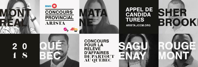 Concours provincial ARISTA 2018 (Groupe CNW/Jeune Chambre de commerce de Montréal)