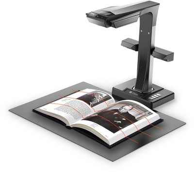 ET16 Plus - Upgraded Smart Book Scanner with Innovative Side Lights