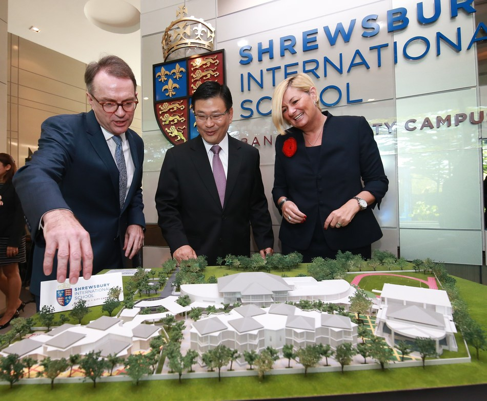 SHREWSBURY INTERNATIONAL SCHOOL OPENS SECOND CAMPUS IN BANGKOK WITH US$78 MILLION INVESTMENT (PRNewsfoto/Shrewsbury International School)