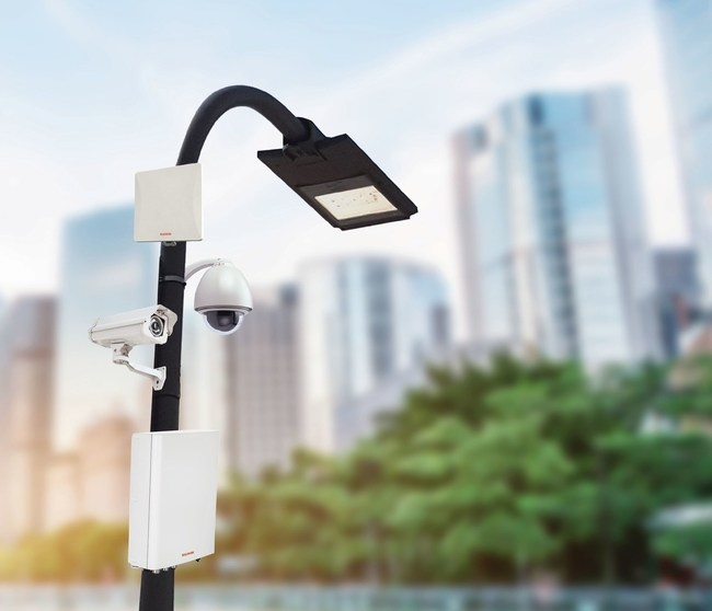 RADWIN Smart-Node all-in-one Communication & Power Solution for Smart Cities