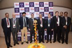 Left to Right: Gerard Kottman, President – AIFEN, Rajneesh Khattar, Group Director UBM India, H.E. Alexandre ZIEGLER, Ambassador of France to India, Dr. R.B. Grover, Homi Bhabha, Chair, Member, Atomic Energy Commission, Mr. Andrei Zhiltsov, Consul General of Russia, S.K. Malhotra, DAE & Secretary, Atomic Energy Education Society. (PRNewsfoto/UBM India Pvt. Ltd.)