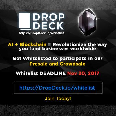 Campagne promotionnelle de DropDeck.io (PRNewsfoto/DropDeck.io)