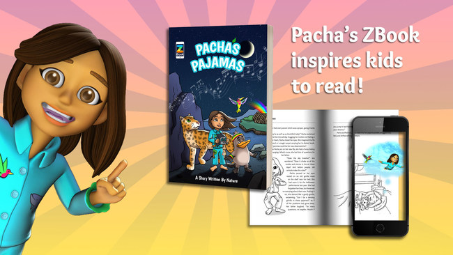 Pacha's Pajamas - Children's Book featuring Augmented Reality
