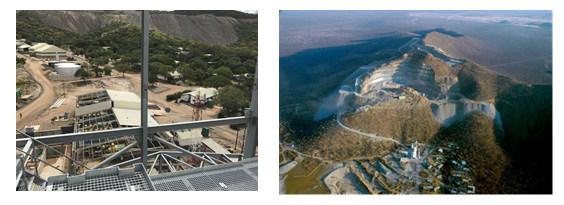 Gecko-Imerys Graphite Processing Facility - Gecko Namibia's Okorusu Mine (CNW Group/Namibia Rare Earths Inc.)