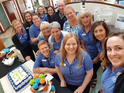 Celebrating milestones is a big part of Libro culture! (CNW Group/Libro Credit Union)