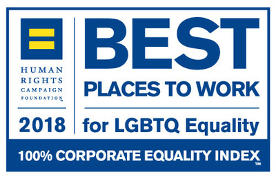 "CNA Earns 100 percent on Human Rights Campaign (HRC) 2018 Corporate Equality Index, and also earn a spot in HRC's ""Buyer's Guide,"" which indicates companies, products and services that support LGBT workplace inclusion."