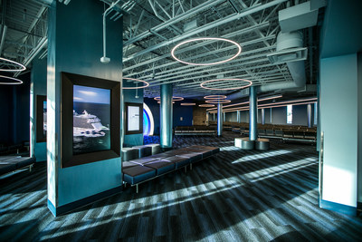 Cruise Terminal 2 at Port Everglades in Fort Lauderdale -- operated by Carnival Corporation's Princess Cruises brand -- now features major upgrades that include a more streamlined departure design, interactive experiences, movie theater and more comfortable pre-boarding areas.