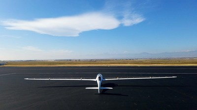 Bye Aerospace StratoAirNet with integrated wings populated by SolAero solar cells