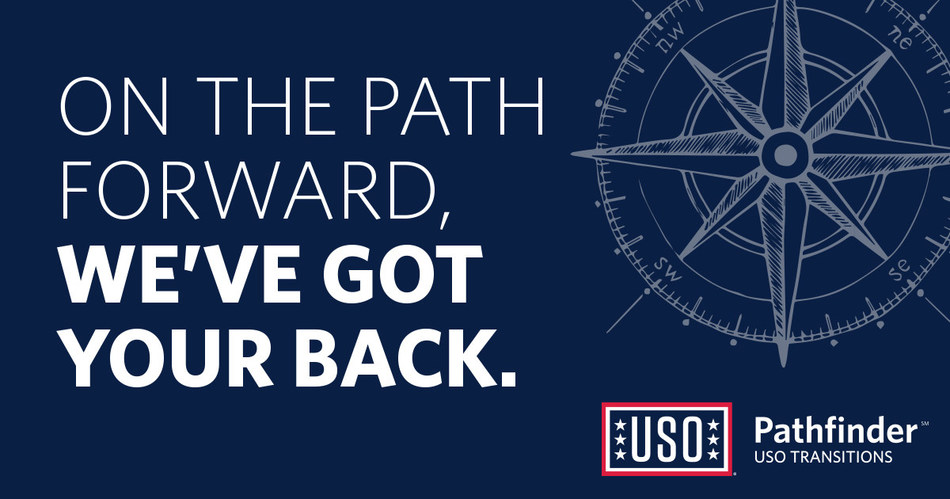 USO PathfinderSM delivers the USO's mission by connecting service members and their families to the help they need to successfully transition from military service.
