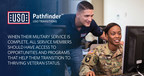USO PathfinderSM sites focus on coordinating services via a human connection and state-of-the-art technology to help service members and their families navigate the transition from military service to thriving veteran status.