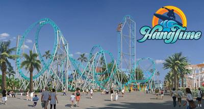 HangTime daytime rendering (PRNewsfoto/Knott's Berry Farm,Cedar Fair E)