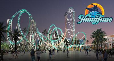HangTime nighttime rendering (PRNewsfoto/Knott's Berry Farm,Cedar Fair E)