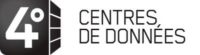 Logo : centres de données 4Degrés (Groupe CNW/Vidéotron)