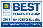 Voya Financial Earns 100 percent on Human Rights Campaign's Annual Scorecard on LGBTQ Workplace Equality