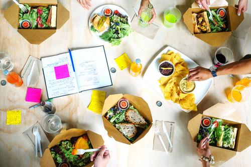 Foodee. Work Hard. Eat Well. (CNW Group/Foodee)