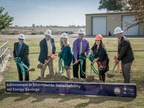Selma-Kingsburg-Fowler County Sanitation District Leadership break ground on the new 2.4MW solar and 500 kW/1,000 kWh energy storage system during a project kick-off event on Wednesday, November 8, 2017. The large-scale program is being designed and implemented by ENGIE North America companies OpTerra Energy Services and Green Charge, with completion expected in summer 2018.