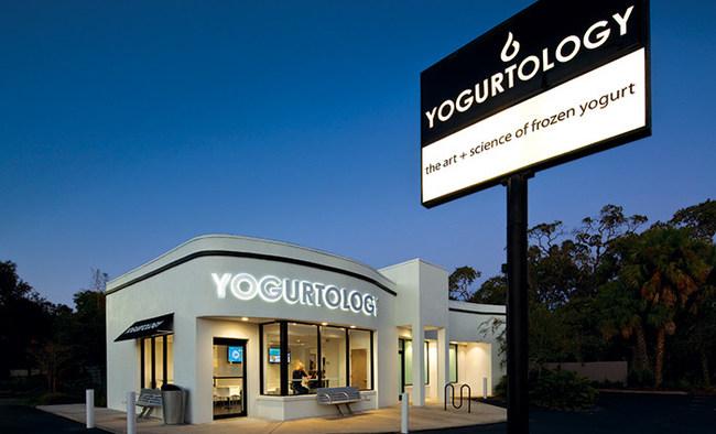 Yogurtology storefront.