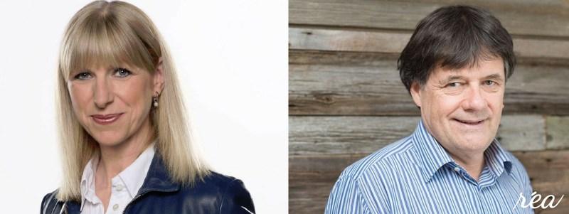 Isabelle Richer et Bernard Gendron (Groupe CNW/Fondation RÉA)
