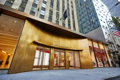 American Girl Place New York celebrates the grand opening of its new store at 75 Rockefeller Plaza.