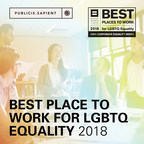 SapientRazorfish & Sapient Consulting Designated as Best Places to Work for LGBTQ Equality