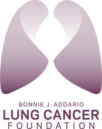 Bonnie J. Addario Lung Cancer Foundation logo. (PRNewsFoto/Addario Lung Cancer Foundation) (PRNewsFoto/Bonnie J. Addario Lung Cancer F)
