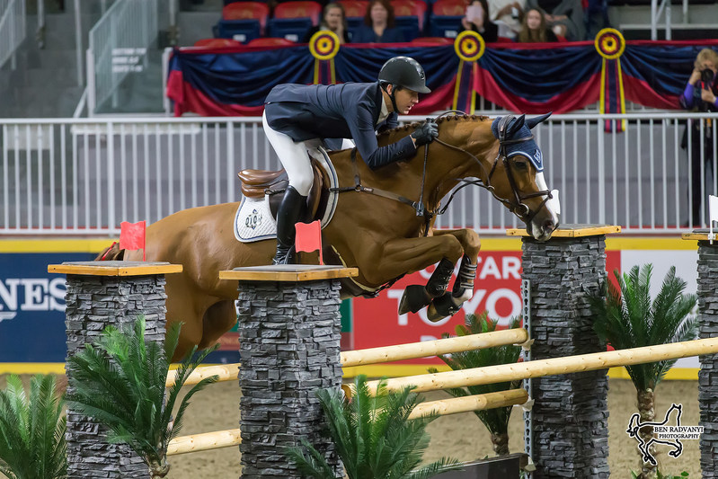 Riding HH Callas for owner Double H Farm, McLain Ward of the United States won the $35,000 International Accumulator on Thursday evening, November 9, at the Royal Horse Show in Toronto, ON. Photo by Ben Radvanyi Photography (CNW Group/Royal Agricultural Winter Fair)