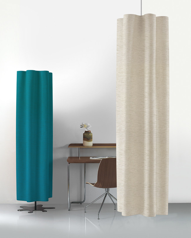 DIESIS uses patented Snowsound-Fiber and was awarded a Best of NeoCon 2017 Silver Award.