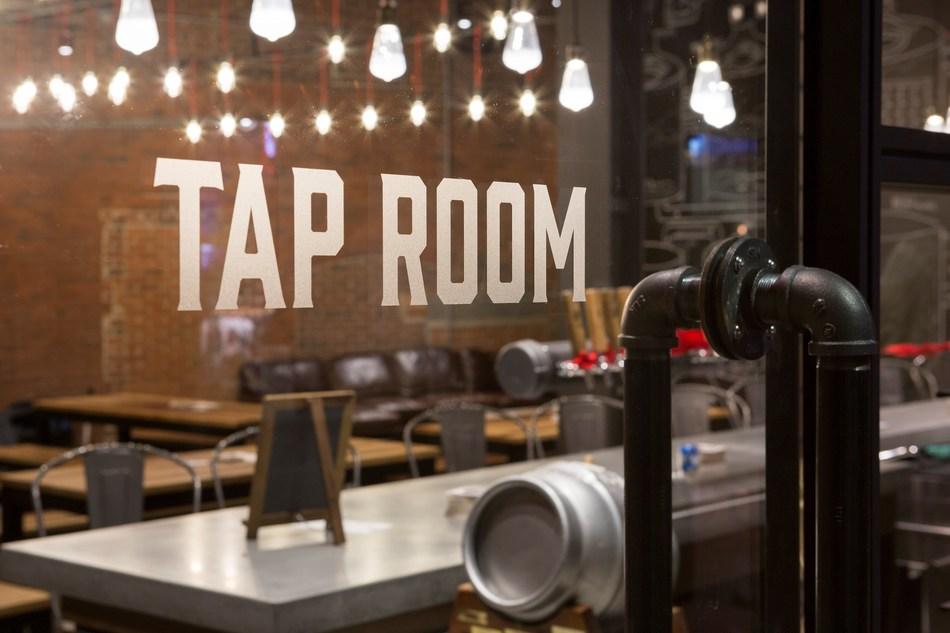 Samuel Adams' new Boston Brewery Tap Room