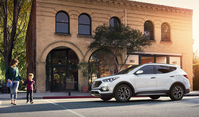 Test drive a new 2018 Hyundai Santa Fe or Santa Fe Sport today at Apple Valley Hyundai.