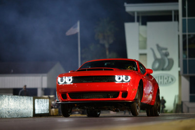 Dodge//SRT Officially Unleashes the Demon: New 840-horsepower 2018 Dodge Challenger SRT Demon Customer Cars Begin Shipping to Dealers