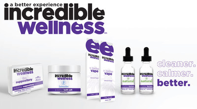 Introducing incredible Wellness. After 7 Years of R&D, incredibles Launches a Line of Triple Tested, Consistent and Trusted High-Milligram and Discreet THC and CBD Wellness Products Throughout Colorado with High MG Suppositories and Tinctures Along with 1:10 THC:CBD Vapes, Aromatherapeutic Bath Salts and Topicals. https://iloveincredibles.com/products/wellness/