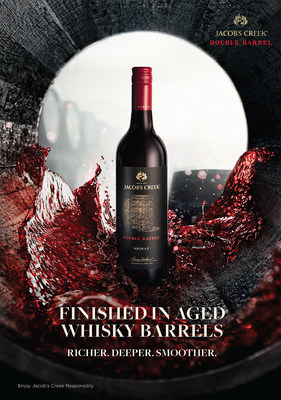 Jacob's Creek launches 'Double Barrel' wine campaign, narrated by Chris Hemsworth. (CNW Group/Corby Spirit and Wine Communications)