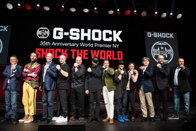 Casio G-SHOCK Kicks Off Yearlong 35th Anniversary Celebration