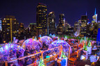 230 Fifth Rooftop Bar Introducing a Holiday Light Show and Expanding its Heated Rooftop Igloos