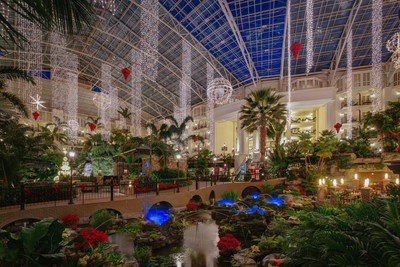 Marvel at more than 3 million holiday lights and acres of magnificent decorations, plus spectacular holiday activities and events at Gaylord Opryland Resort in Nashville, TN.