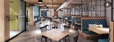 Amsterdam-born creative workspace, SPACES, opens first co-working location in Toronto (CNW Group/Spaces)