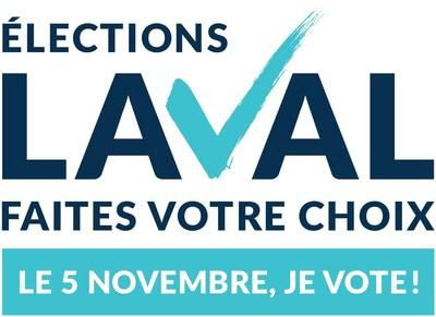 Logo : Élections Laval (Groupe CNW/Élections Laval)