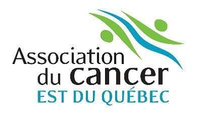 Logo : Association du cancer de l'Est du Québec (Groupe CNW/Fondation québécoise du cancer)