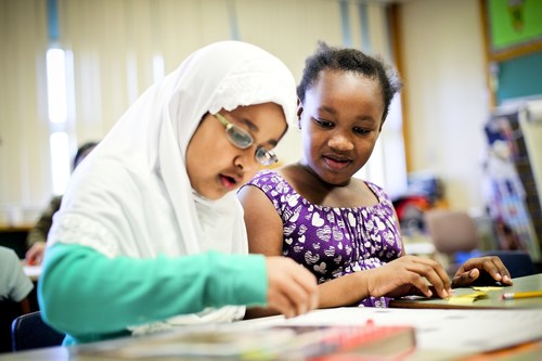 """Over the next week, Members of Parliament will be visiting schools across the country to hear from their youngest constituents as part of UNICEF Canada's """"Bring Your MP to School Day"""". UNICEF Canada/2010/Sri Utami (CNW Group/UNICEF Canada)"""