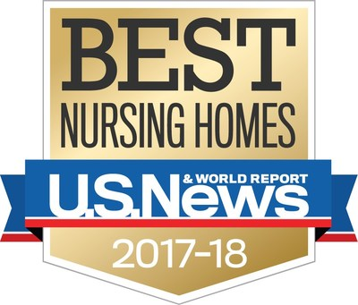 "Seventeen Brookdale Communities Achieve Annual ""Best Nursing Home"" Designation ."