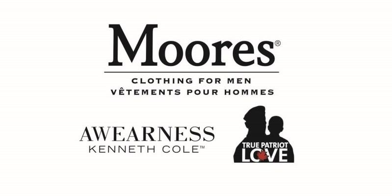 Moores Vêtements pour hommes fête le Jour du Souvenir et fait un don de plus de 350 000 dollars
