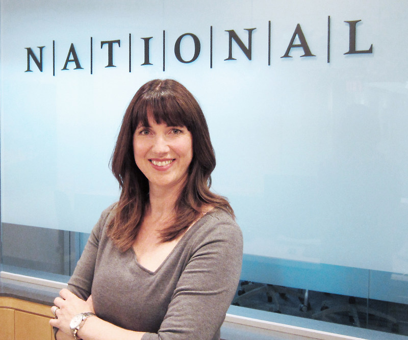 NATIONAL Public Relations Vancouver welcomes Michelle Wilson as Vice-President, Creative Strategy. (CNW Group/NATIONAL Public Relations)
