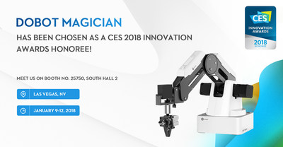 Dobot Magician-CES 2018 Innovation Honoree