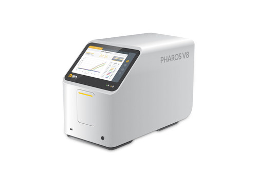 Pharos V8, the world's first Laser PCR® platform, developed by GNA Biosolutions GmbH. (PRNewsfoto/GNA Solutions)