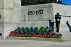 Remembrance Day Ceremony (CNW Group/The Royal Canadian Legion Dominion Command)