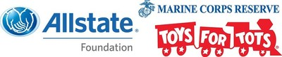 Allstate Foundation and Toys for Tots Logo